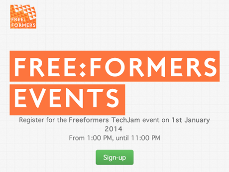 Free:Formers Events Website