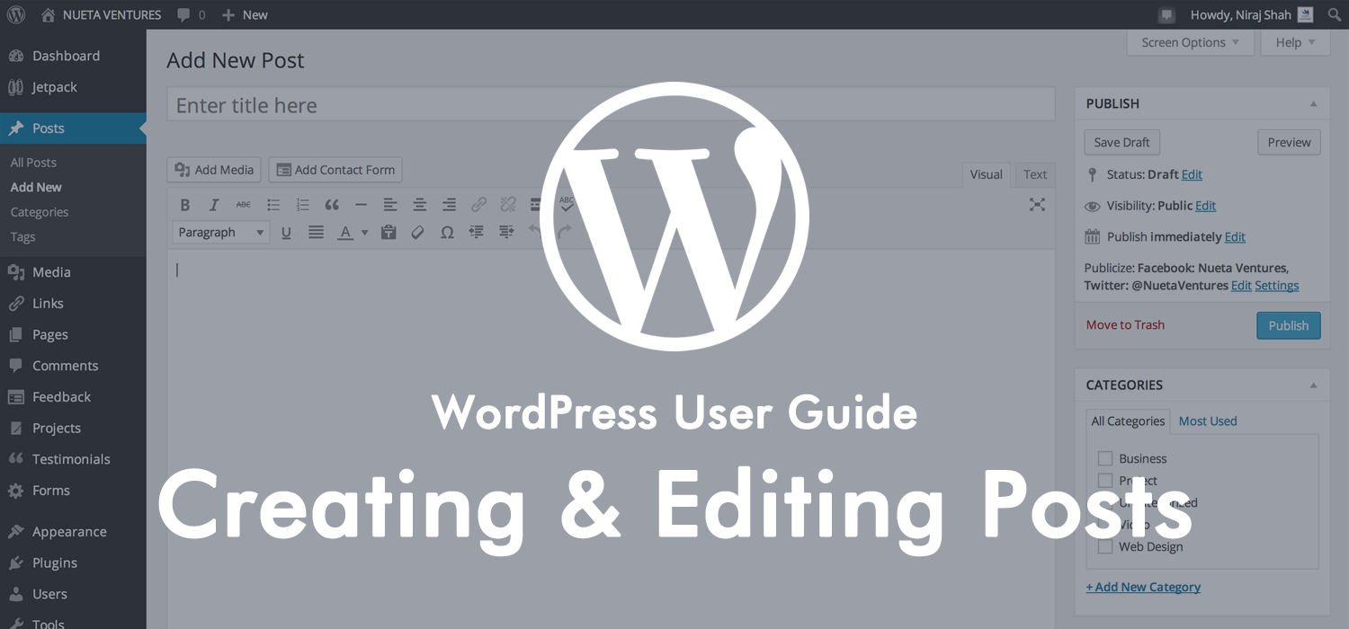 WordPress User Guide - Posts